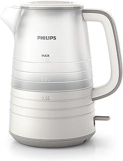 comprar comparacion Philips Daily HD9334/20 - Hervidor de Agua, 2400 W, 1.5 Litros, Color Blanco