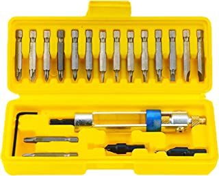 20Pcs Drill Driver Multi Screwdriver Sets Updated Version 16 Different Kinds Head with Countersink Bits