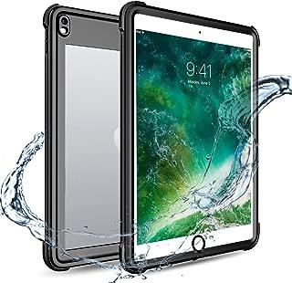 XBK iPad Pro 10.5 Waterproof Case, Full Body 360 Degree Protect Dustproof Shockproof Cover Case for Apple iPad Pro10.5 inch (2017 Version,Black) (Black)