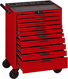 Teng Tools 10 Drawer Heavy Duty Roller Cabinet Tool Chest/Wagon - TCW810N