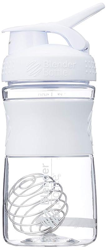 生きるまぶしさ交差点ブレンダーボトル 【日本正規品】 ミキサー シェーカー ボトル Sports Mixer 20オンス (600ml) ホワイト BBSME20 WH