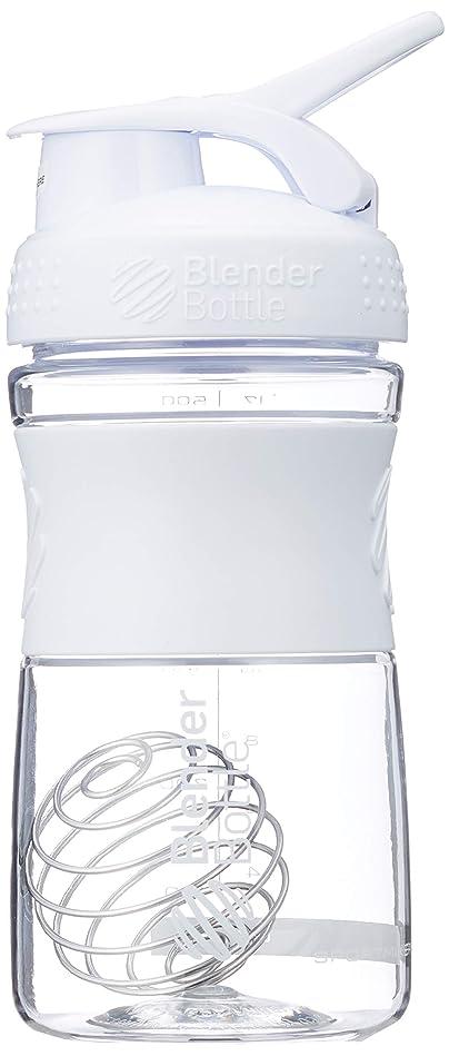 さておき雄弁離れてブレンダーボトル 【日本正規品】 ミキサー シェーカー ボトル Sports Mixer 20オンス (600ml) ホワイト BBSME20 WH