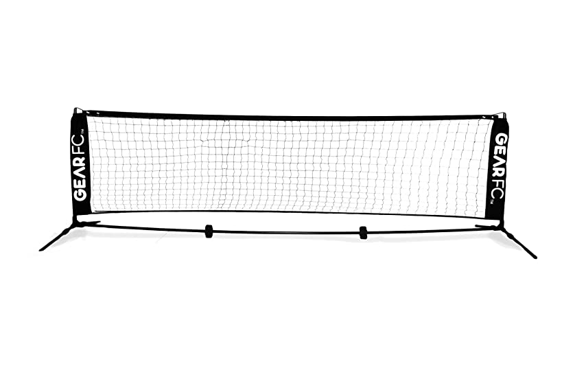 All-Surface Soccer Tennis Net - 9.8 Feet | 3 Meters Wide - Portable with Carrying Bag
