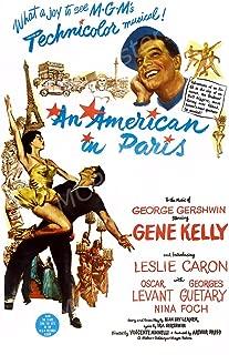 Best an american in paris movie poster Reviews