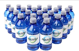 Aquapap Vapor Distilled Water Case of 24 x 12 oz Bottles