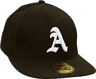 Gorra de béisbol Snapback 3D, letra