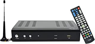 iView Premium Digital Converter Box with Recording, Analog to Digital, ATSC Tuner, Clear QAM Compatible, Channel 3/4, HDMI, USB, Free Antenna Included