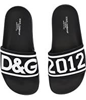 Dolce & Gabbana Kids - Logo Slide (Little Kid/Big Kid)