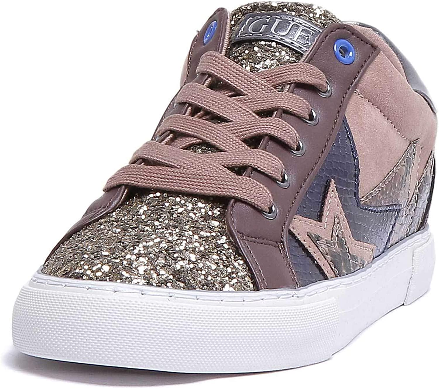 GUESS Point 2 Trainers in Brown