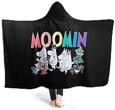 بطانية بغطاء رأس من NYF Moo-min للسرير والأريكة وغرفة النوم وبطانيات من الصوف الدقيق مريحة للغاية للنساء والأطفال 127 سم ×...