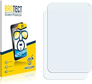 BROTECT Protector Pantalla Compatible con Toshiba Encore WT8-A-102 Protector Transparente (2 Unidades) Anti-Huellas