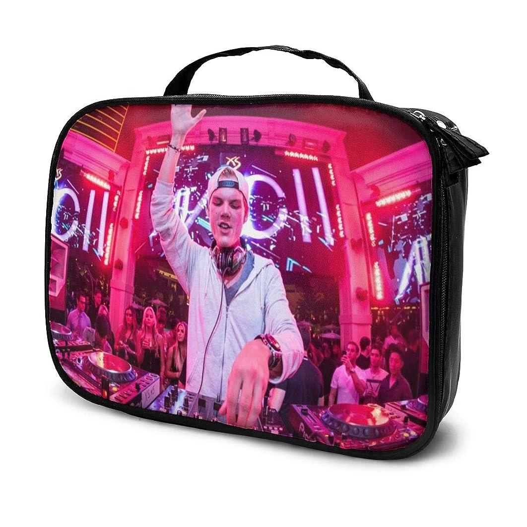 血色の良い覚えている雨化粧ポーチ Avicii 女性化粧品バッグ ビューティー メイク道具 フェイスケアツール 化粧ポーチメイクボックス ホーム、旅行、ショッピング、ショッピング
