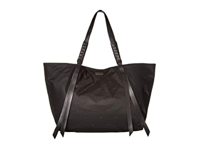 AllSaints Nilo Stud East/West Tote (Black) Handbags