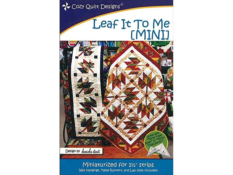 Cozy Quilt Designs CZQCQD01168 Leaf it to Me Mini Ptrn