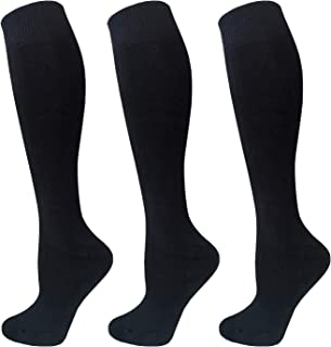 Knee High Cushion Thermal Socks for Women & Men - Warm Winter Cotton Thick Heat Insulated Socks For Cold Weather