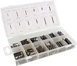 ABN Roll Pin Assortment 245-Piece Set – Pinning Kit, Pins for Small Machine Projects
