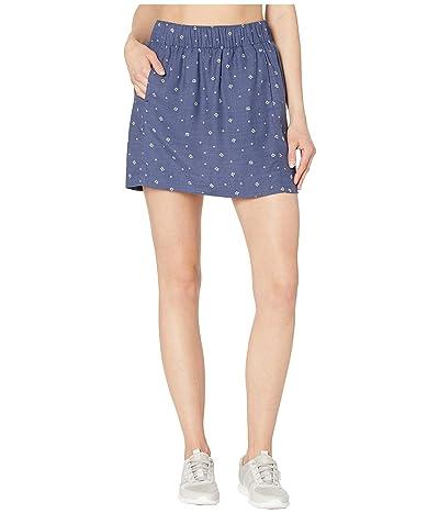 Toad&Co Hillrose Skirt (Blue Shadow Fern Print) Women