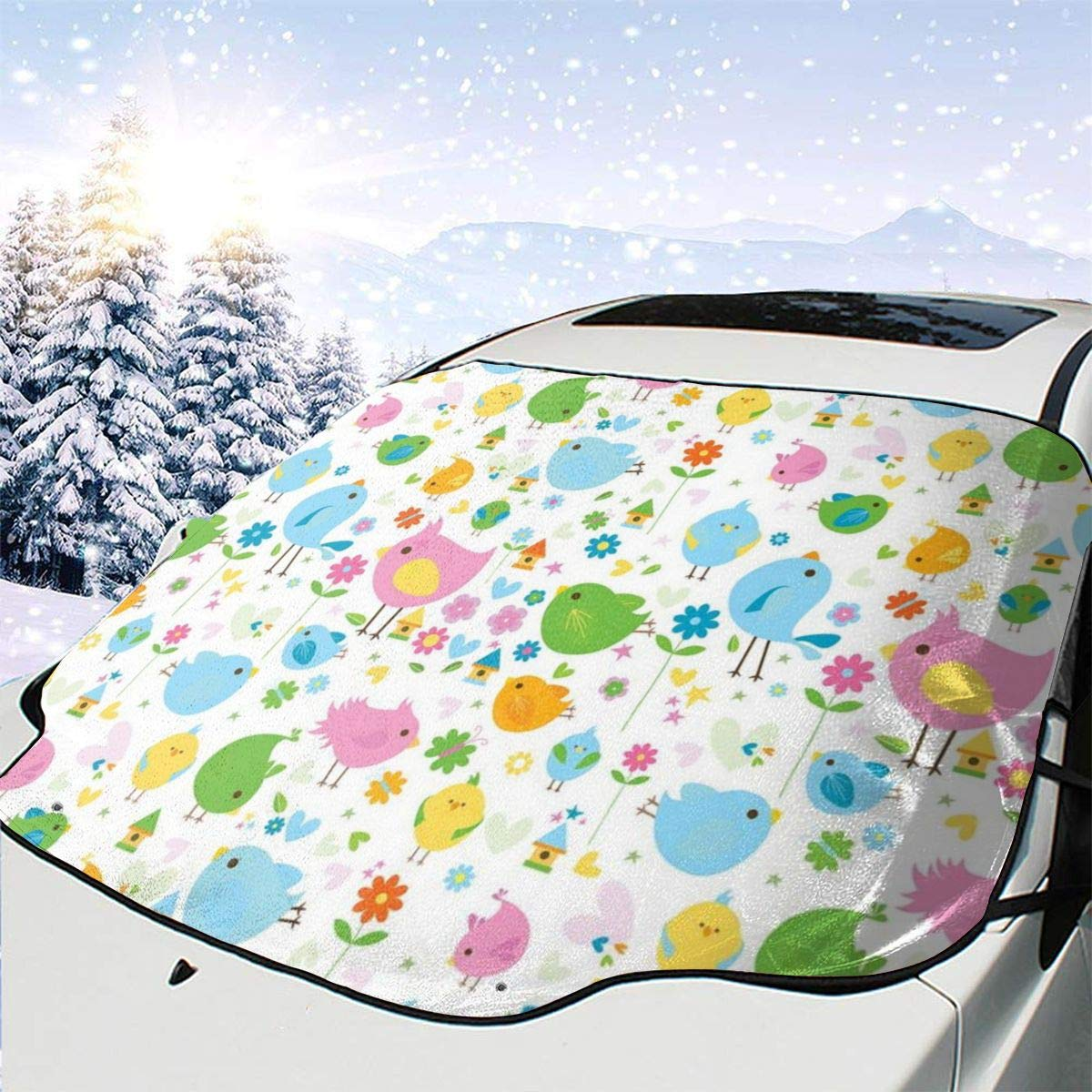 Car Front Window Windshield Snow Birds Season Mesa Mall 70% OFF Outlet Spring and Cover