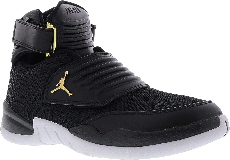 Nike Men's Jordan Generation 23 Black   - White Ankle-High Basketball shoes 11M