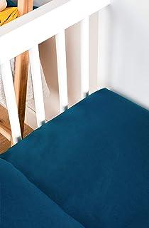 Kadolis Drap Housse bébé Tencel® Active Clim 60 x 120 cm Bleu Nuit