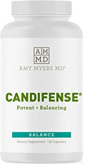 Candifense Candida Supplement from Amy Myers MD – Herb Free Plant Based Enzymes Supplement - Supports Digestive Issues & G...