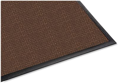 Genuine Joe Indoor/Outdoor Mat, Water Guard, 3 by 5-Feet, Brown