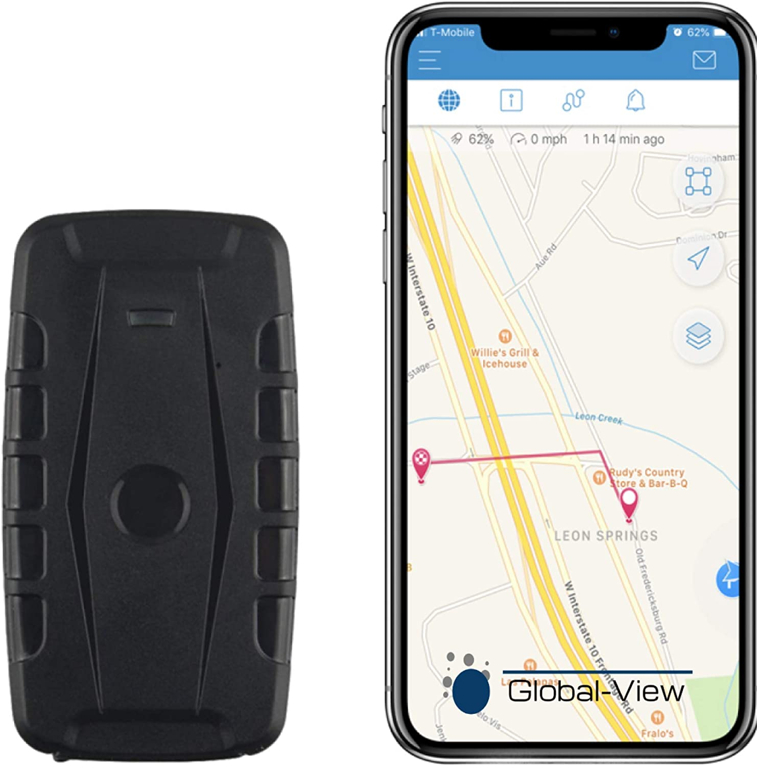 Global view GPS Tracker for Car