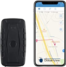 Global-View.Net Hidden Magnetic GPS Vehicle Tracking Device with Software (2 Month Battery) - Car GPS Tracker - Subscription Required