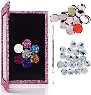 Kalolary Lege Oogschaduw Make-up doos Magnetische Cosmetica Palet Oog Schaduw DIY Opslag Lade doos Houder Met 1 Depotting ...