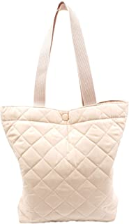 NUVELY Handbags Canvas Outdoor Multipurpose Daily Shoulder Tote Bag (Medium Pink)