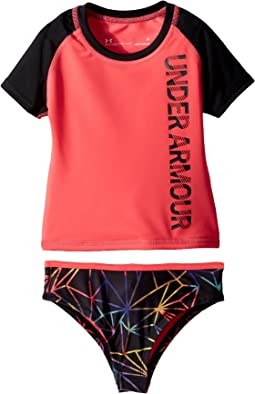 Under Armour Kids - Polyprism Rashguard Set (Toddler)