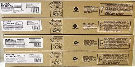 Sharp MX-36NTBA MX-2610 2615 2640 3110 3115 3140 3610 3640 Toner Cartridge (Black) in Retail Packaging