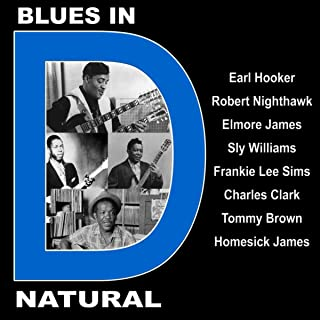 Blues in D Natural With Earl Hooker, Robert Nighthawk, Elmore James, Sly Williams, Frankie Lee Sims, Charles Clark, Tommy Brown and Homesick James