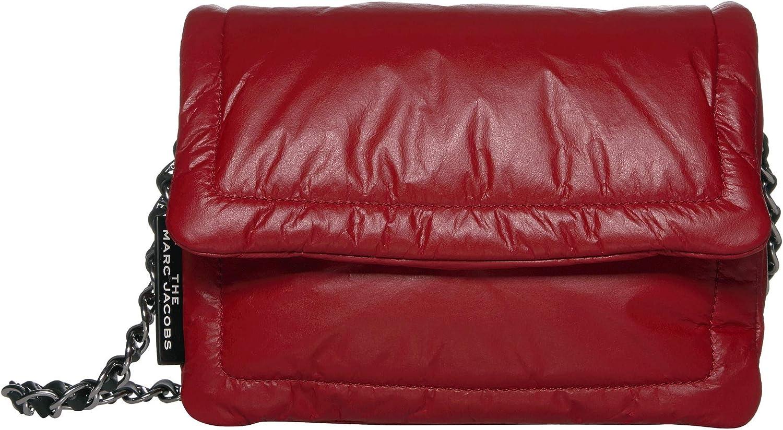Amazon.com: Marc Jacobs The Pillow Bag Cranberry One Size: Shoes