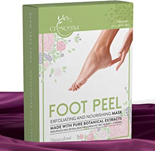 Exfoliating Foot Peel Mask 2 Pair - Baby Soft & Smooth Feet – Gentle Exfoliation Treatment To Remove Rough Dead Skin & Calluses - For Men & Women