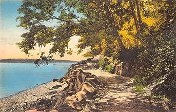 Palisades Interstate Park New Jersey trail Hudson River antique pc ZA441396