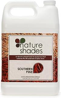 Nature Shades 1 Gallon Pine Straw Colorant Southern Pine Autumn Pine Pigment Dye (Southern Pine)