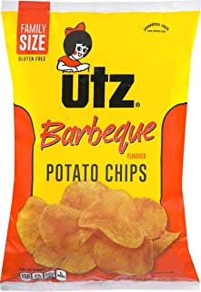Utz Quality Foods 9.5 oz. Family Size Barbeque Potato Chips (3 Bags)