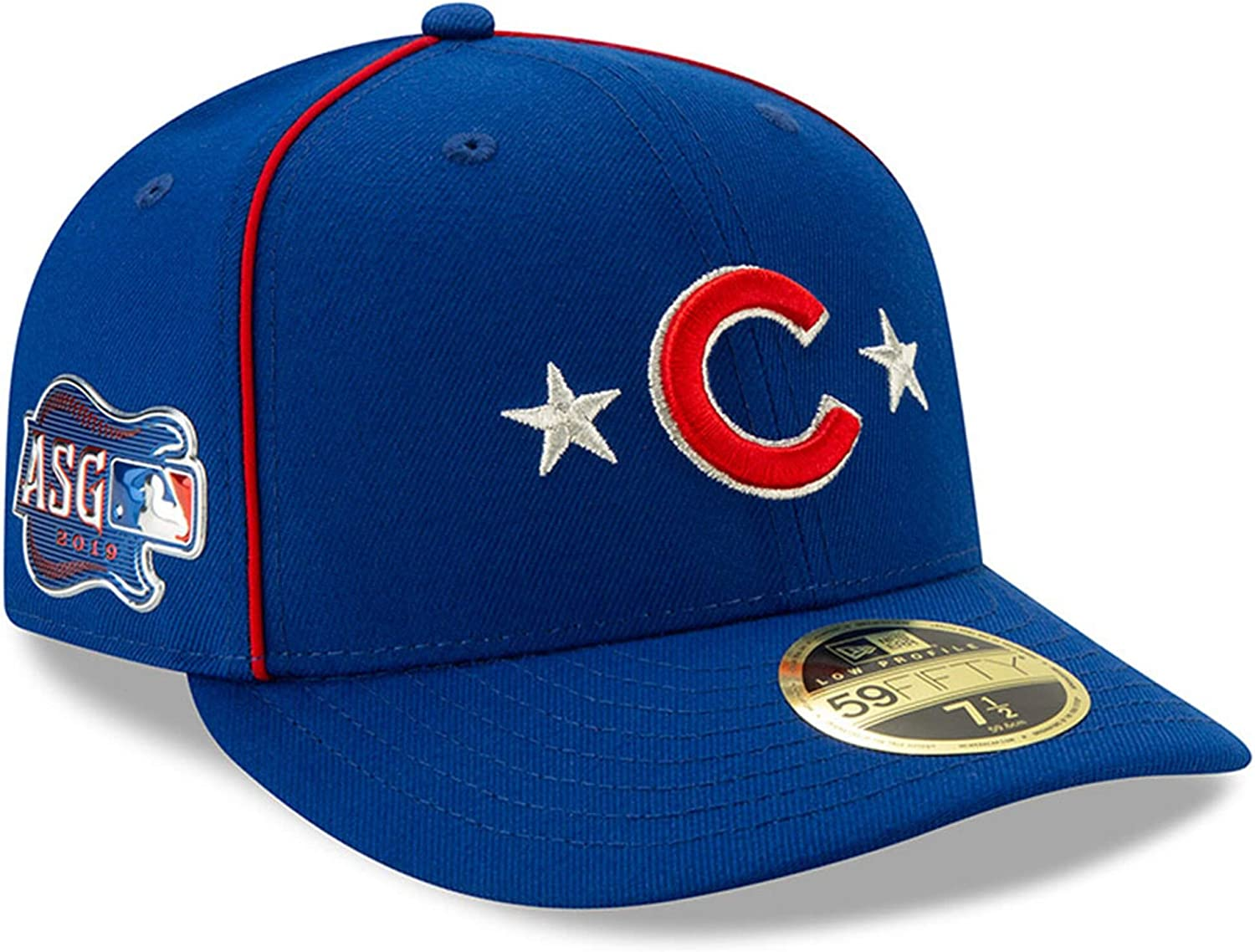 New Era MLB Long-awaited Chicago Cubs 59FIFTY LP All AS Overseas parallel import regular item Low Game Profile Star