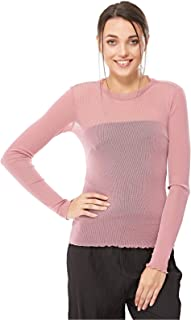 Moves Pullover Top for Women - Pink Pearl - L