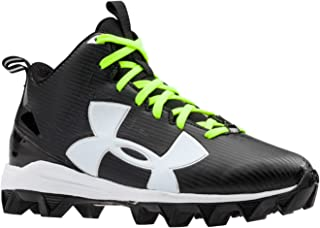 Under Armour Boy's Crusher Mid Jr Football Cleat