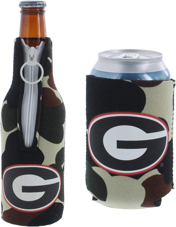 NCAA Appalachian State Mountaineers Dots Zipper Bottle Cooler Set of 2