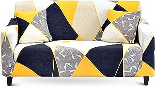ZWL Stretchy Sectional Hussen Stuhl Sofa Cover f/ür Wohnzimmer Anti Staub Sofa Schutzh/ülle,Color 1,1-seat 90-140cm