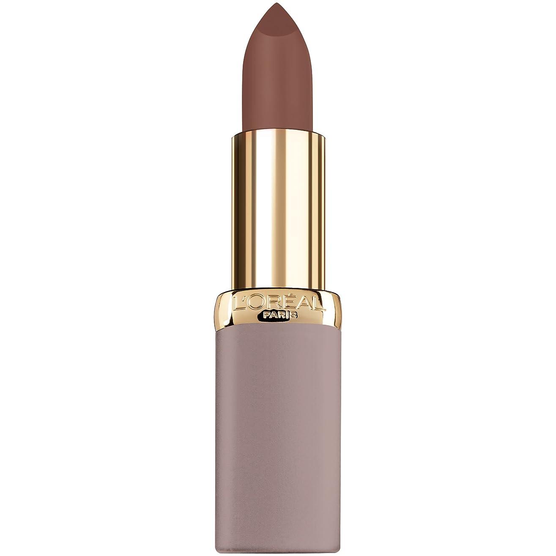 撤退一生誰がL'Oréal Colour Riche Ultra Matte Nude Lipstick (981 Cutting Edge Cork)