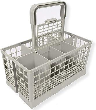 Banbie8409 1pcs Universal Dishwasher Cutlery Basket Storage Box Kitchen Aid Spare Part(Grey)