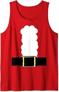 Unique Graphics   Santa Claus Costume Tank Top