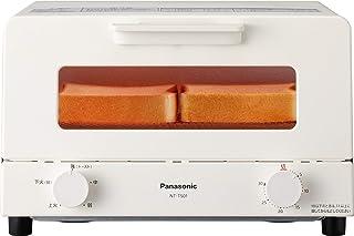 パナソニック オーブントースター 4枚焼き対応 30分タイマー搭載 ホワイト NT-T501-W