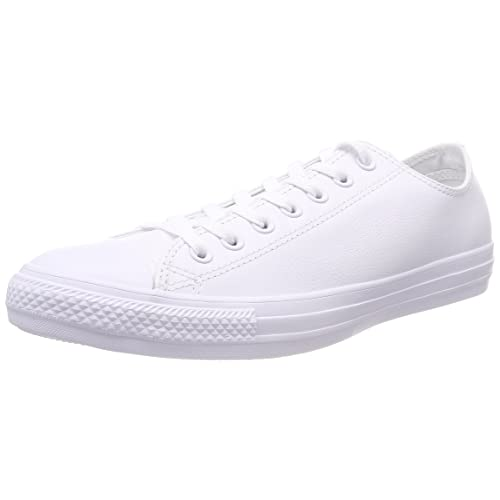 766729bdf2ddf0 Converse Women s Chuck Taylor All Star Leather Low Top Sneaker