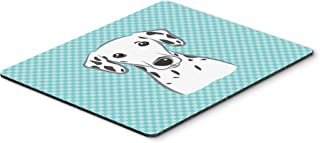 Caroline's Treasures Checkerboard Blue Dalmatian Mouse Pad/Hot Pad/Trivet (BB1148MP)