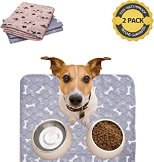 Upgrade Washable Puppy Pee Pads for Dog,Reusable,Waterproof Training Pads for Incontinence,Travel,Mattress Protector,Whelping,Premium Pee Pads for Dogs(2Pack)
